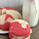 Sweet Cherry Cookies ~ Soft, chewy and super simple cookies that will disappear in seconds!