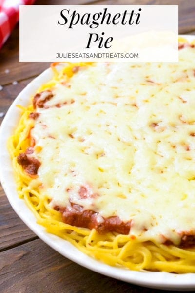 Spaghetti Pie Pinterest Image