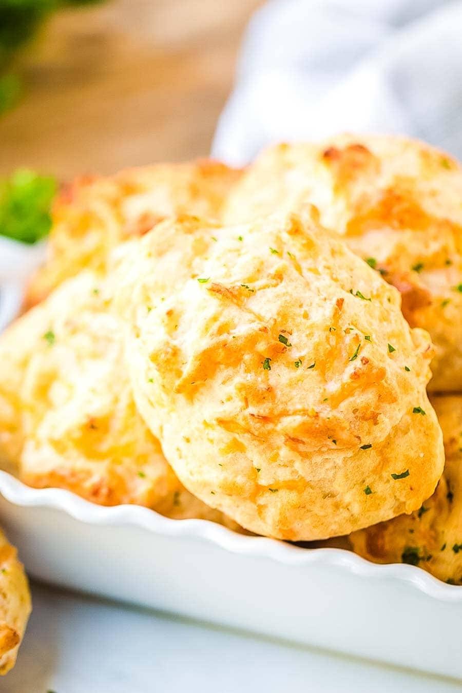 Cheddar Bay Biscuits recipe prepared