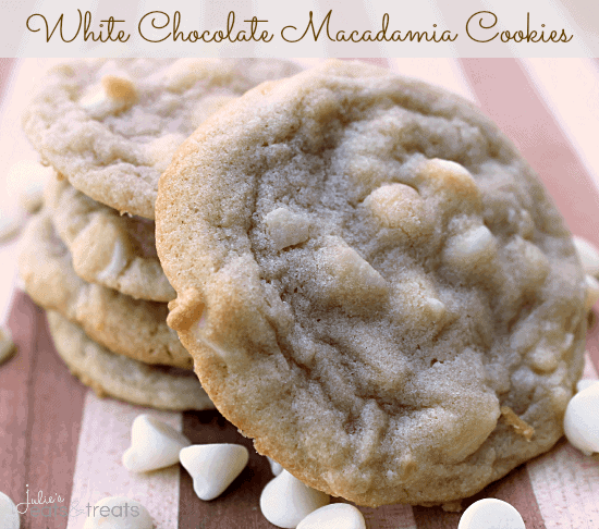 White Chocolate Macadamia Cookies Recipe — Dishmaps