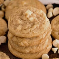 White Chocolate Macadamia Nut Cookies ~ Soft, chewy cookies loaded with white chocolate chips and macadamia nuts! These the perfect ones!
