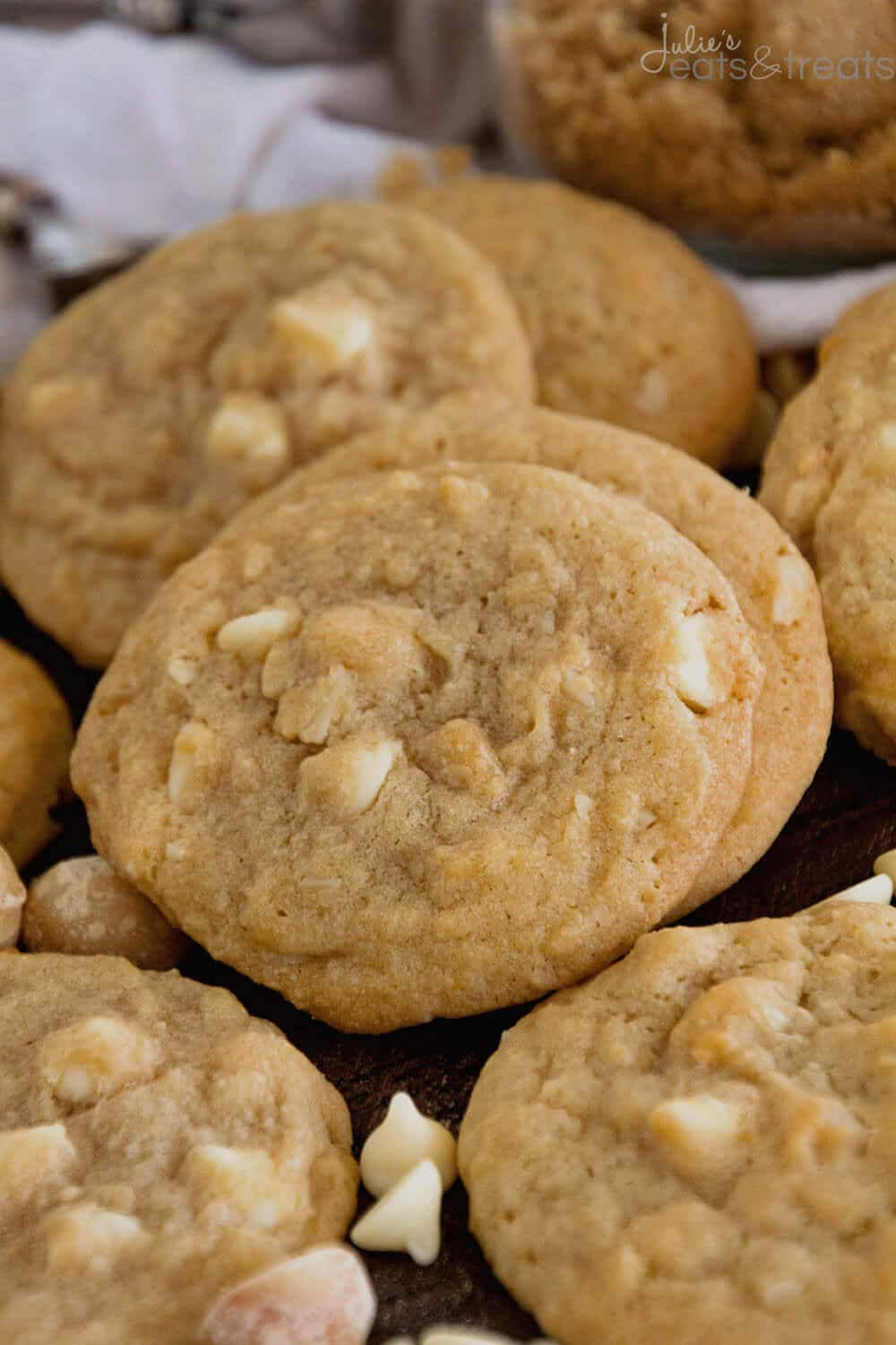 White Chocolate Macadamia Cookies ~ Soft, chewy cookies loaded with white chocolate chips and macadamia nuts! These the perfect ones!