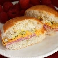 Ham Cheese Poppy Seed Sandwiches ~ Quick and Easy Sandwich to Satisfy Everyone!
