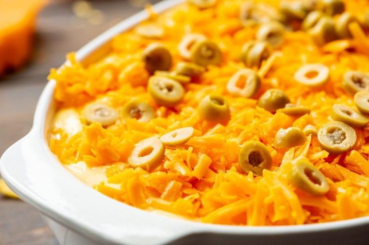 Taco Casserole Recipe in casserole dish