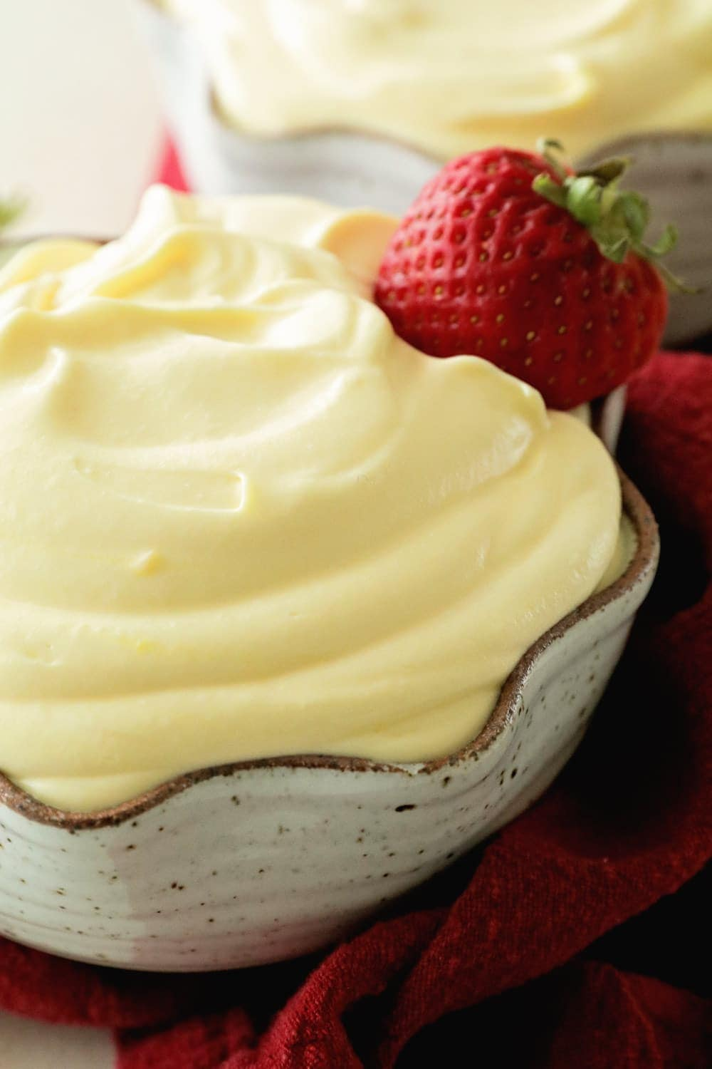 Easy Vanilla Pudding ~ This Quick and Easy Pudding Only Requires 3 Ingredients! Light, Fluffy and Delicious!
