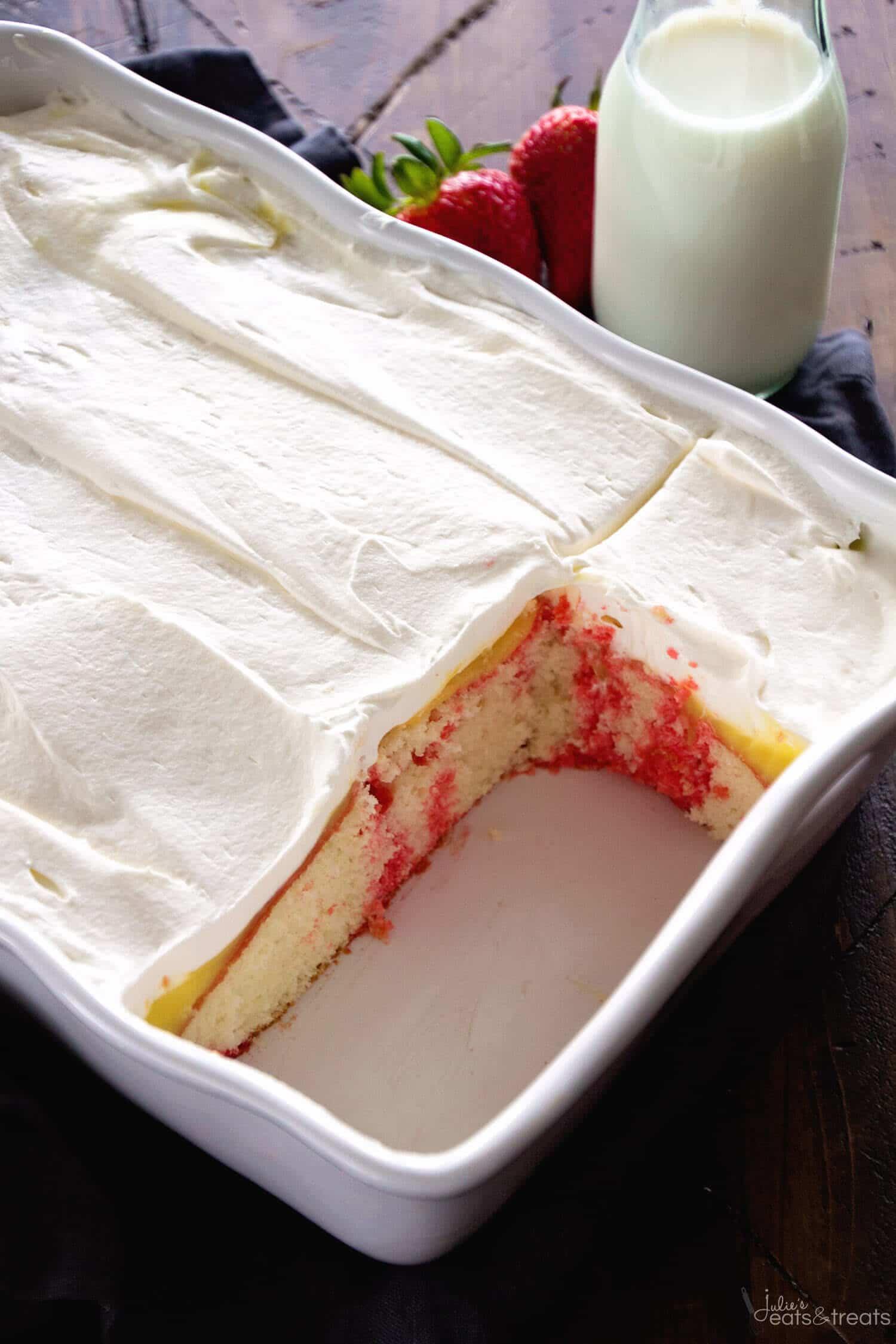 Pudding Poke Cake Recipe Cool Whip
