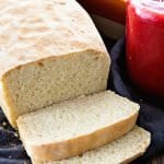 English Muffin Bread ~ Perfect Bread for Toasting! Homemade Bread that has the Same Texture and Flavor as Your Favorite English Muffins!