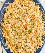 Bowl of easy fried rice