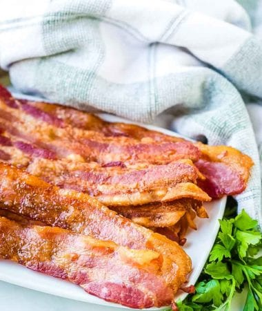 how to bake bacon in the oven prepared