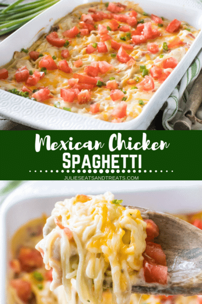 Mexican Chicken Spaghetti Pinterest