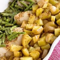 Green Beans, Chicken & Potatoes ~ One Pan Wonder Dinner That Will Be a Hit With Your Family!