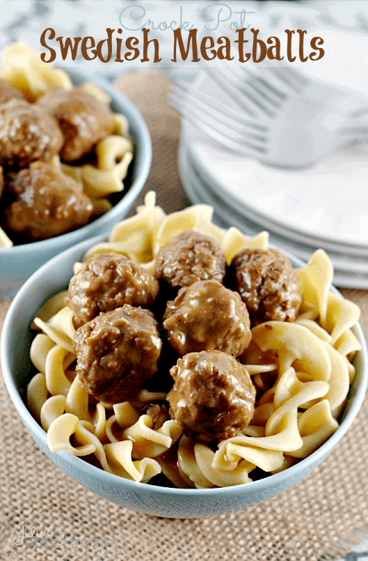 Meatballs in crockpot recipes