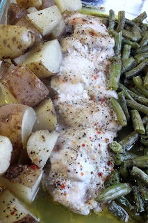 Chicken, Green Beans & Potatoes