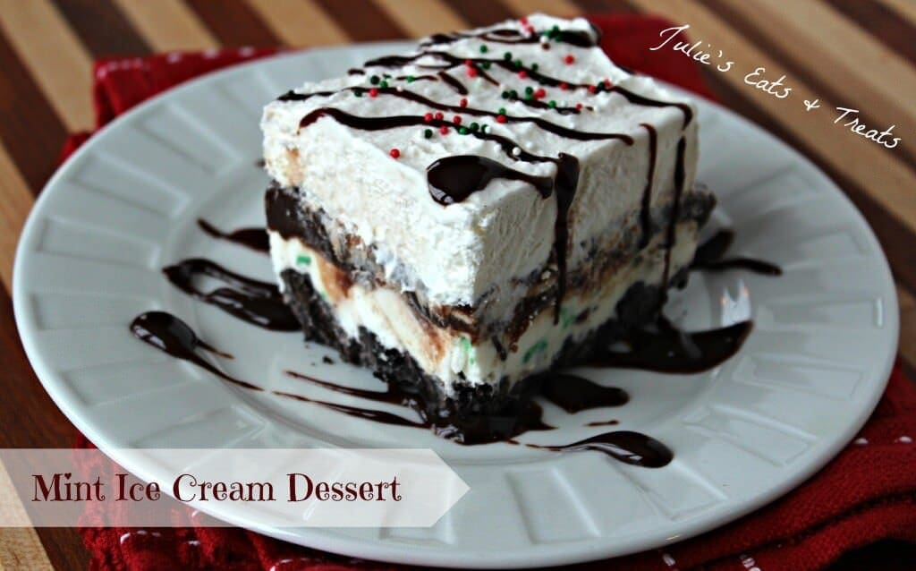 Mint Ice Cream Dessert