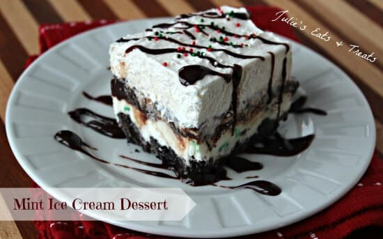 Mint Ice Cream Dessert