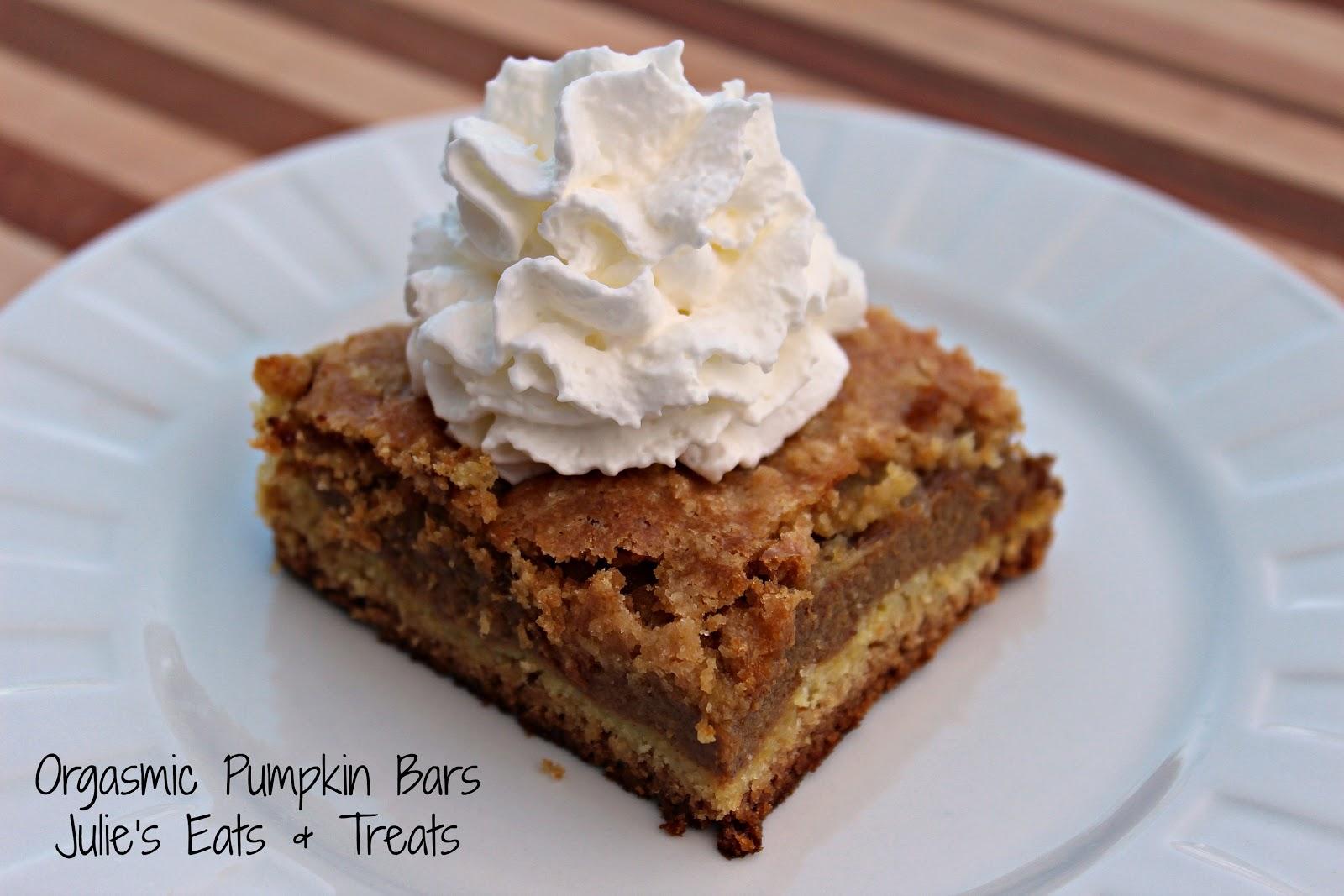 Pumpkin Bar Recipes With Cake Mix
