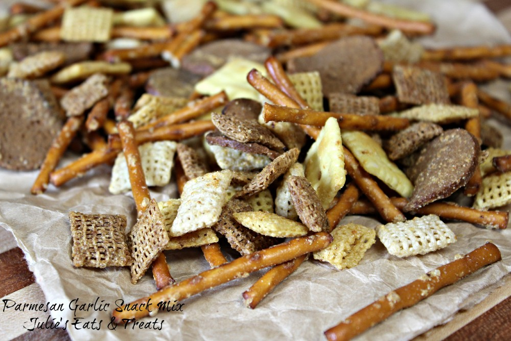 Parmesan Garlic Snack Mix