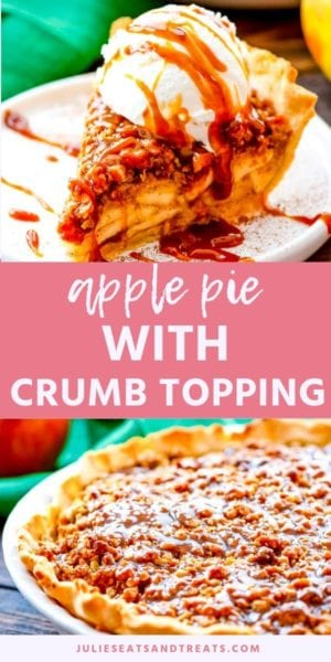 APPLE PIE WITH CRUMB TOPPING Pins