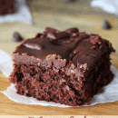 Chocolate Cherry Brownies ~ Fudgy Brownies with a surprise of Cherry!!