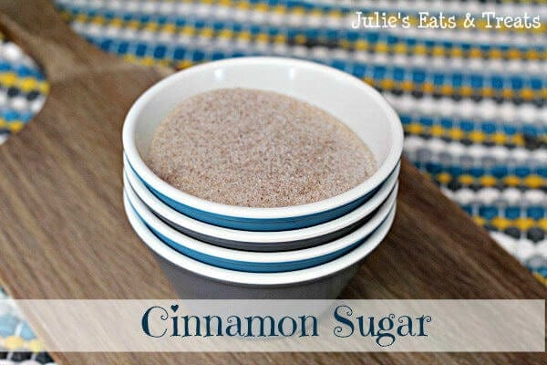 Cinnamon Sugar ~ The perfect blend of cinnamon & sugar ~ www.julieseatsandtreats.com #recipe