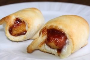 BBQ Chicken Crescents