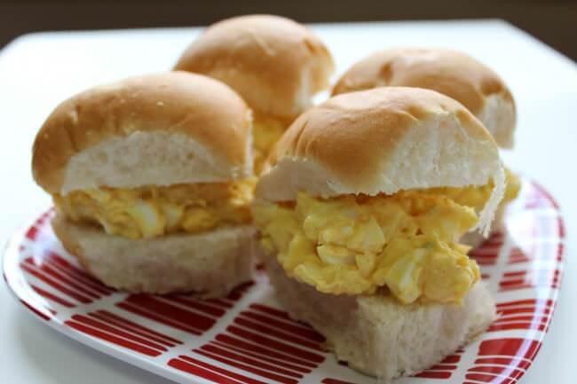 Deviled Egg Sandwiches