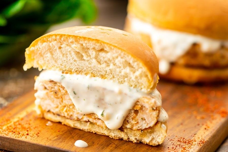 Ground Chicken Burger