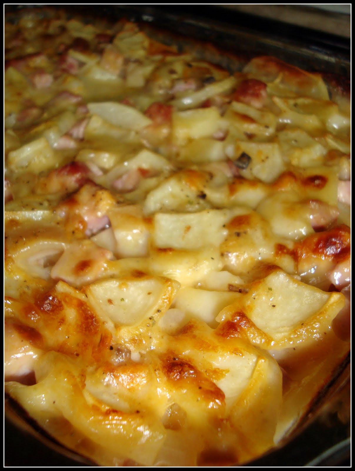 Scalloped Potatoes And Ham Recipe — Dishmaps