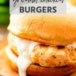 ranch ground chicken burgers New Pins