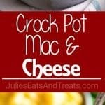 Crock Pot Mac & Cheese ~ Your Favorite Macaroni and Cheese Made in Your Slow Cooker! Easy, Creamy, Deliciousness!