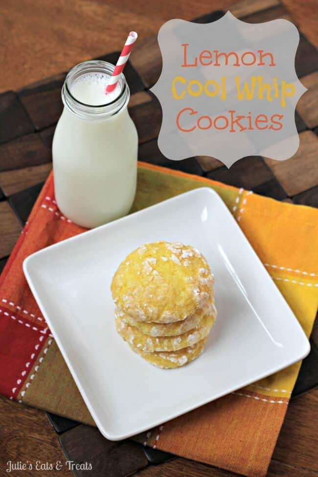 Lemon Cool Whip Cookies - Julie's Eats & Treats