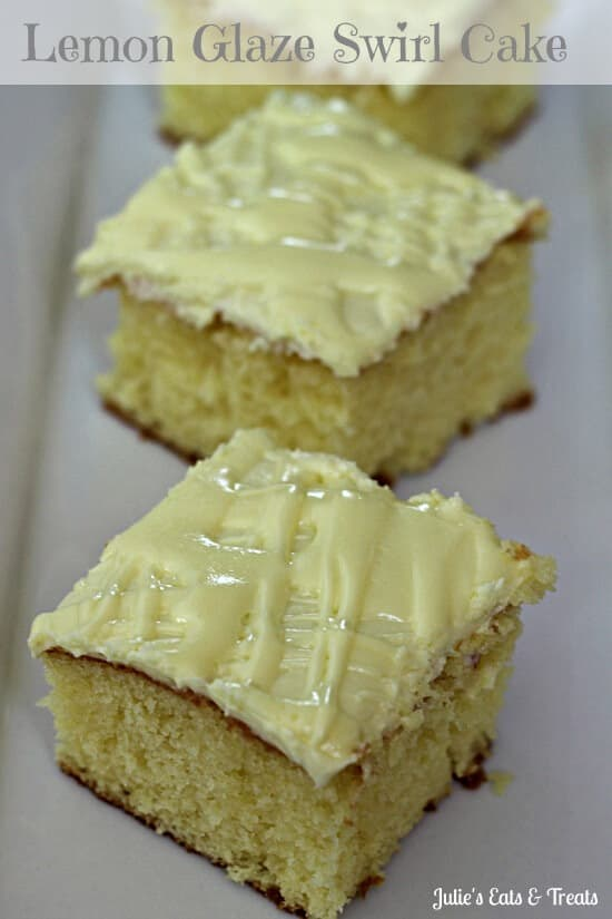 Lemon Glazed Swirl Cake & Creative Kitchen Giveaway