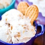 Bowls of Nutter Butter Ice Cream recipe