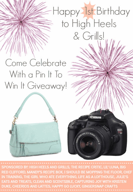 High Heels & Grills 1st Blogiversary Giveaway
