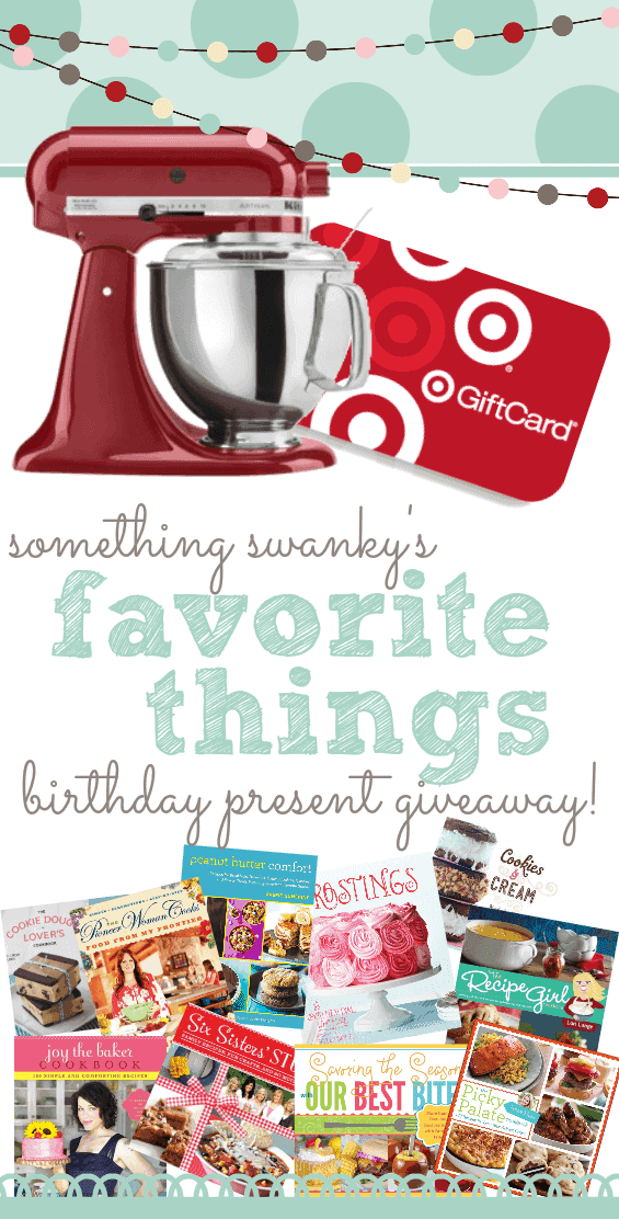 Something Swanky Giveaway with over $800 worth of prizes!