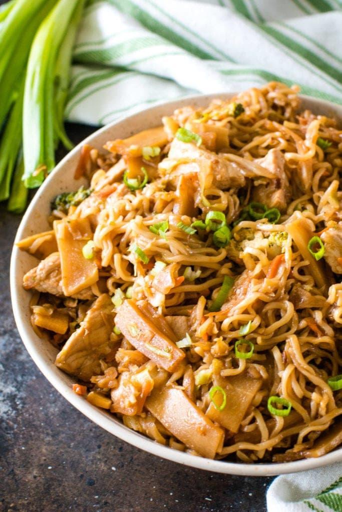 Pork Ramen Stir Fry - Julie's Eats & Treats ®