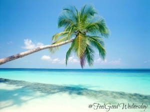 Tropical Beach #FeelGood Wednesday