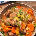Crock Pot Beef Stew Pinterest Image