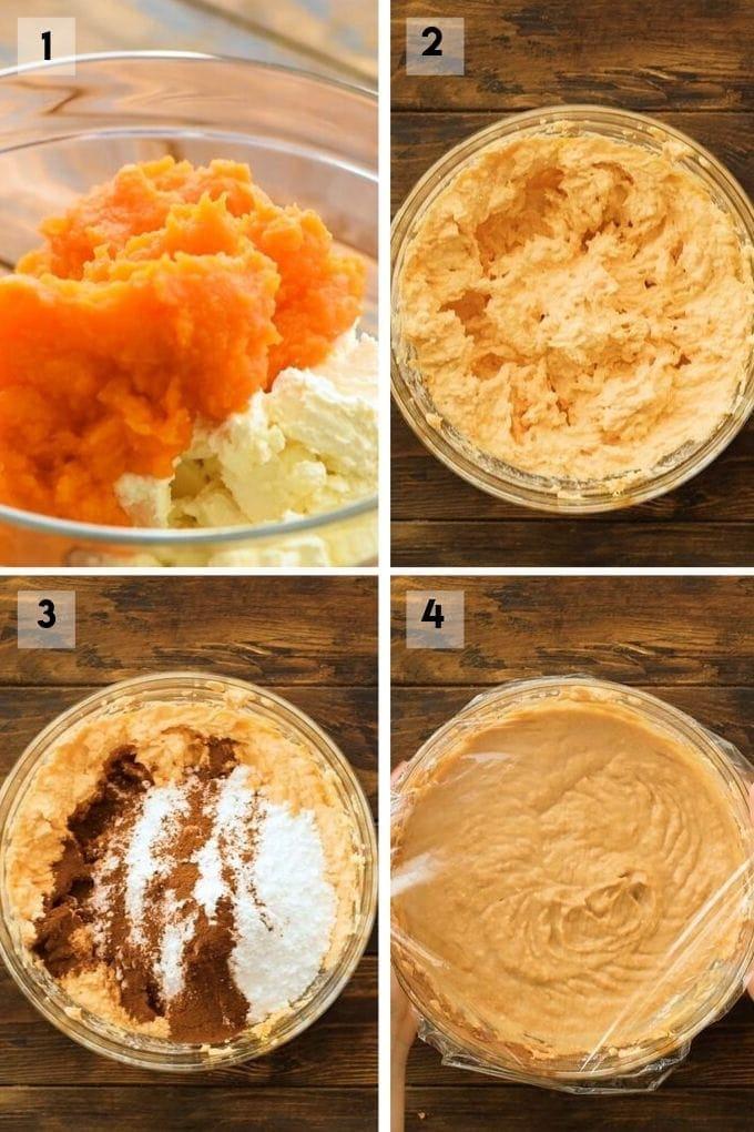 pumpkin dip Collage