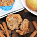 Caramel Apple Muffins ~ Love Caramel Apples? Get all the flavor in these muffins!