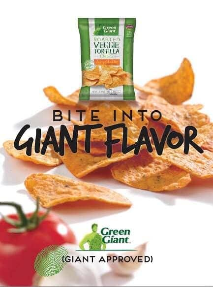Green Giant Veggie Chips Key Visual 3