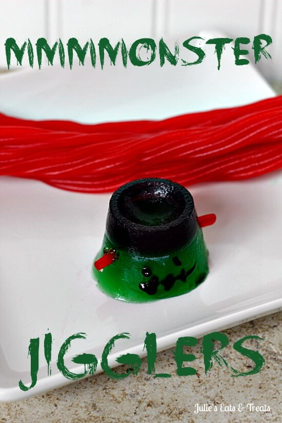 MMMMONSTER JIGGLERS ~ Cute and fun treats to make with the kids!