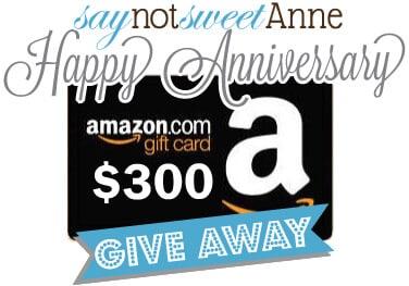 Sweet Anne's $300 Celebration
