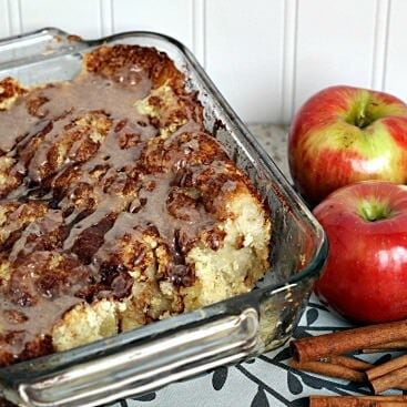 Apple Cinnamon Cream Cheese Pull Apart FG