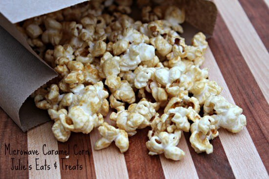 Microwave Caramel Corn ~ Perfect for those cases of you just can't wait for caramel corn!