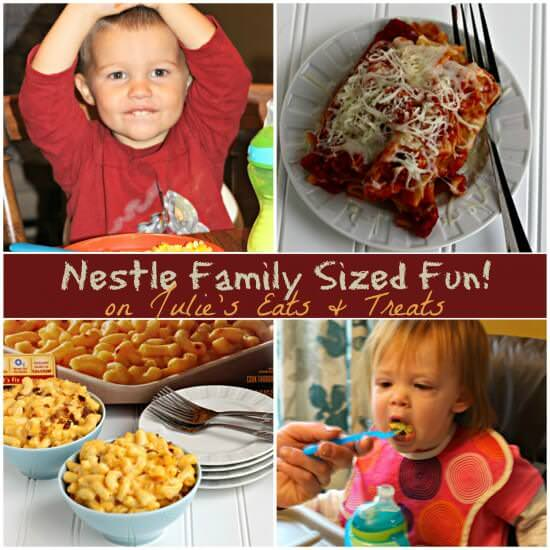 Nestle Family Sized Fun! on Julie's Eats & Treats!