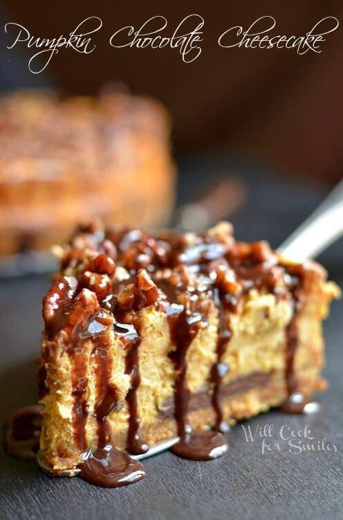 pumpkin-chocolate-cheesecake-5-c-willcookforsmiles-com-pumpkin-cheesecake-chocolate