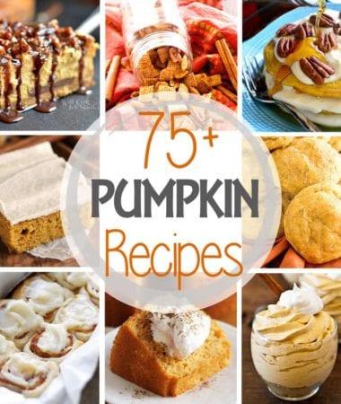 75+ Delicious Pumpkin Recipes