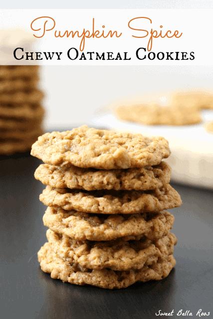 pumpkin-spice-oatmeal-cookies