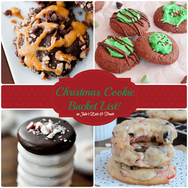 Christmas Cookie Bucket List 15 MUST MAKE Cookies for your Holiday Celebrations!